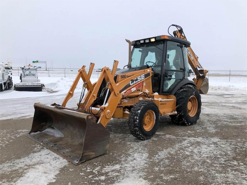 CASE 580SM PLUS II, Backhoe Loaders, Construction Equipment