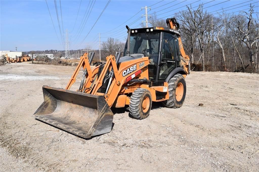 CASE 580SN, Backhoe Loaders, Construction Equipment