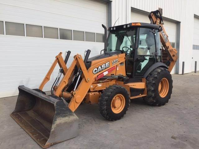 CASE 580SN WT, Backhoe Loaders, Construction Equipment