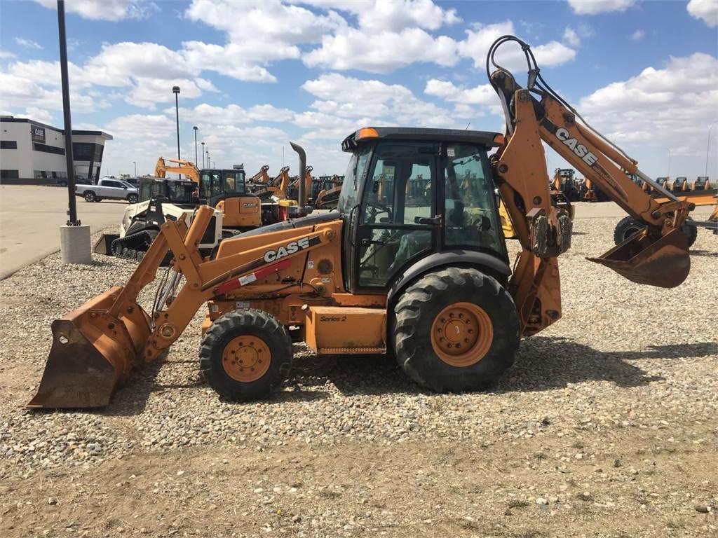 CASE 590SM II, Backhoe Loaders, Construction Equipment