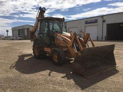 CASE 590SN, Backhoe Loaders, Construction Equipment