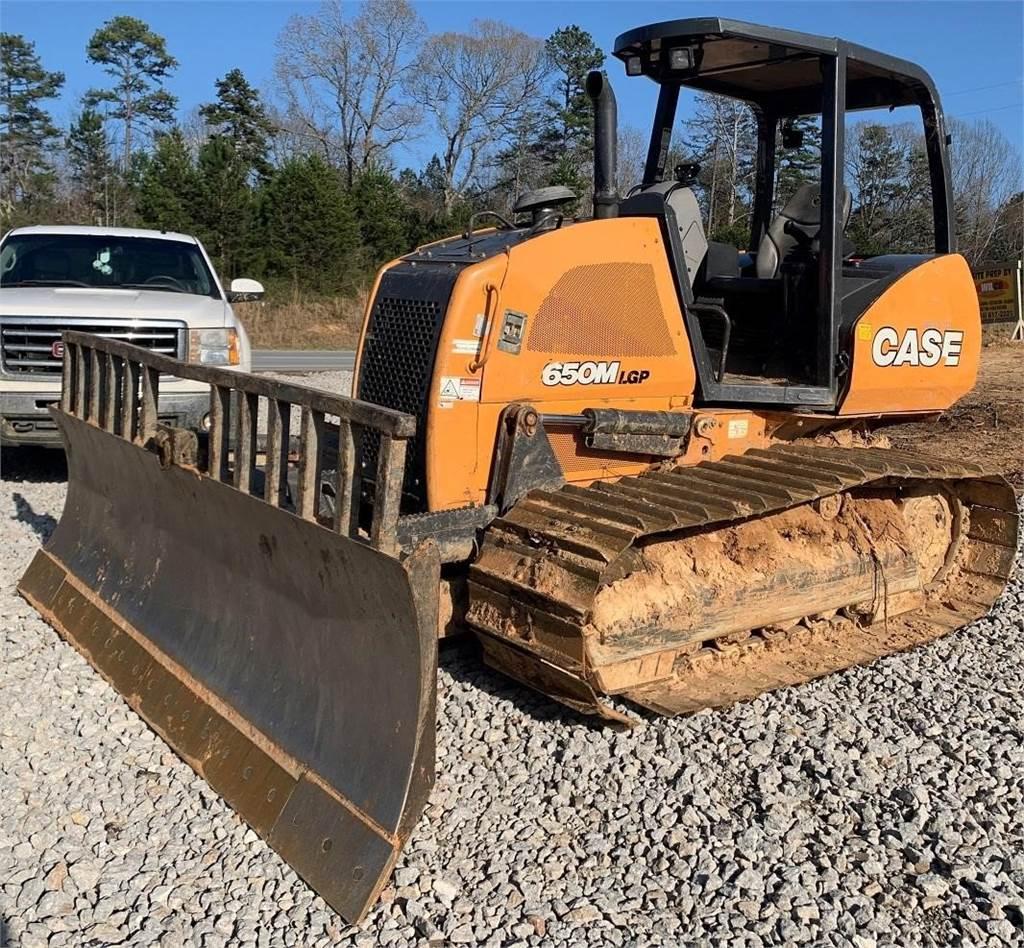 CASE 650M LGP, Crawler dozers, Construction Equipment