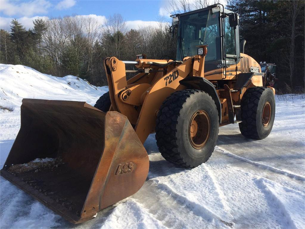 CASE 721D, Wheel Loaders, Construction Equipment