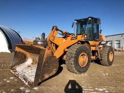 CASE 821E, Wheel Loaders, Construction Equipment