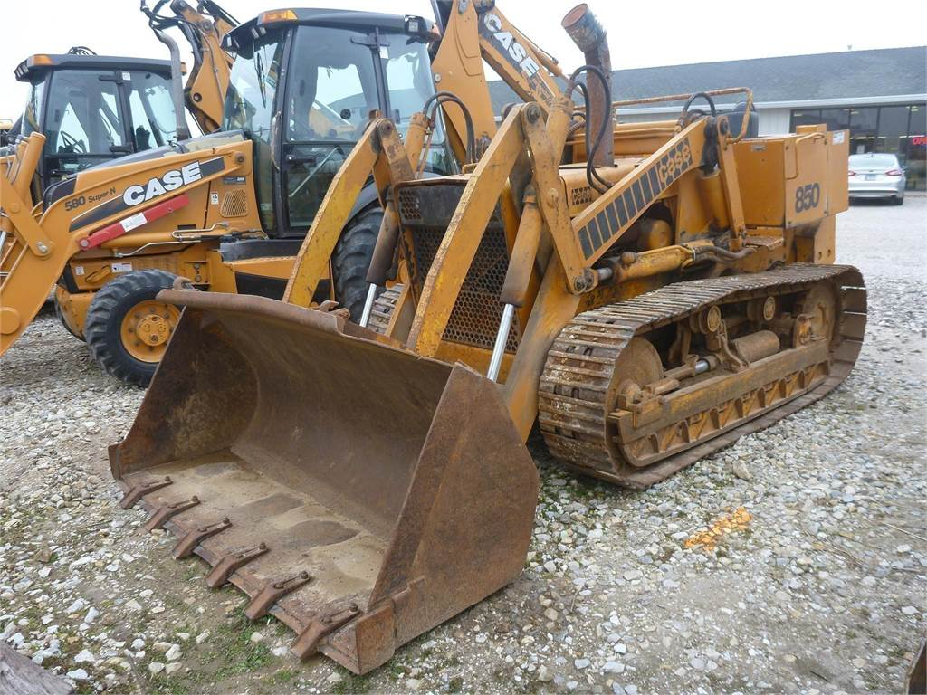 CASE 850, Crawler Loaders, Construction Equipment