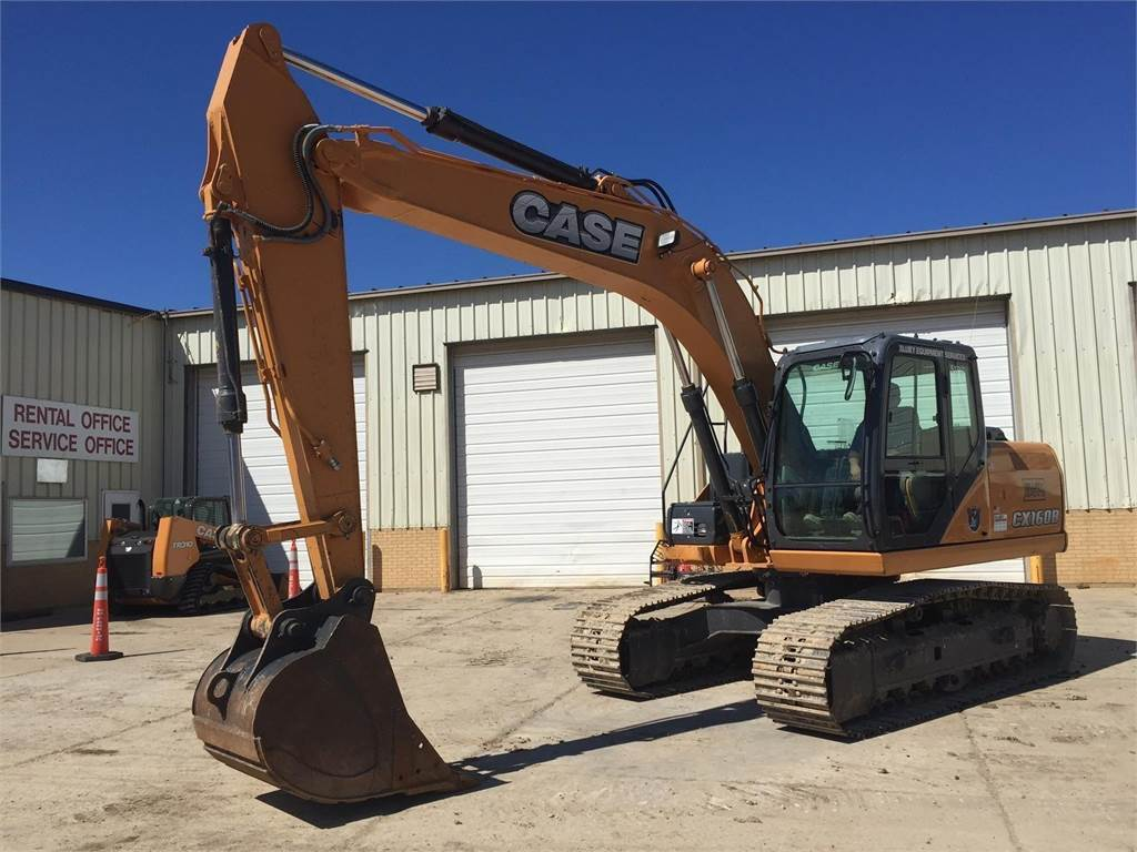 CASE CX160B, Crawler Excavators, Construction Equipment