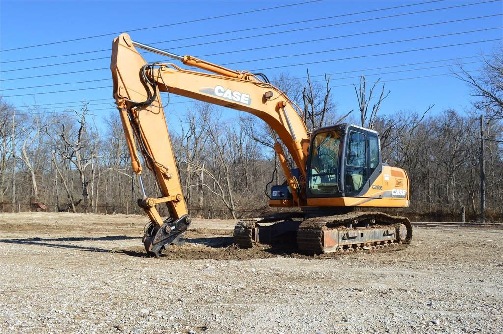 CASE CX160B, Crawler Excavators, Construction Equipment