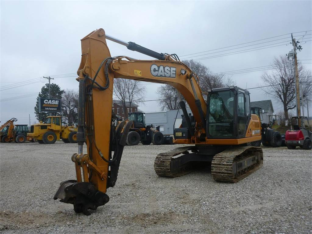CASE CX160C, Crawler Excavators, Construction Equipment
