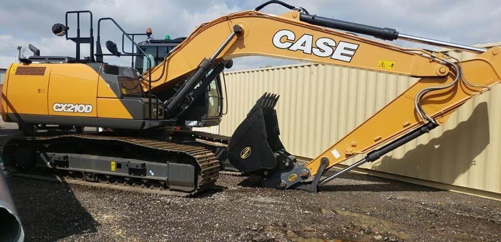 CASE CX210D, Crawler Excavators, Construction Equipment