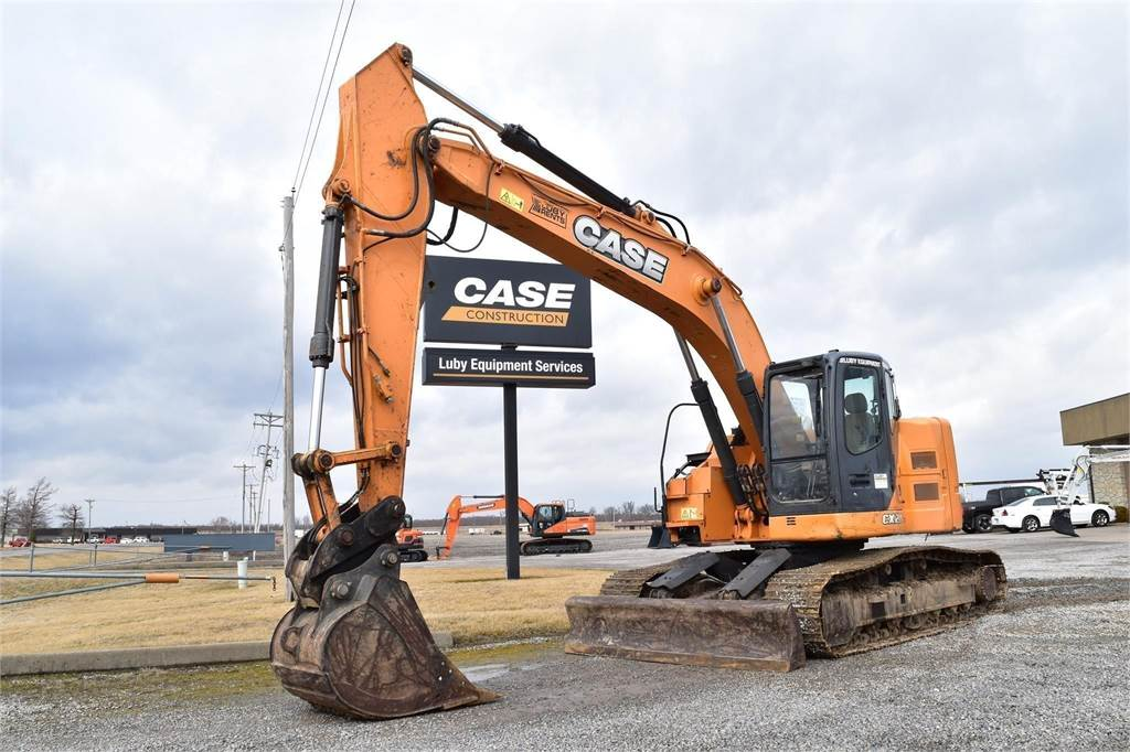 CASE CX225, Crawler Excavators, Construction Equipment