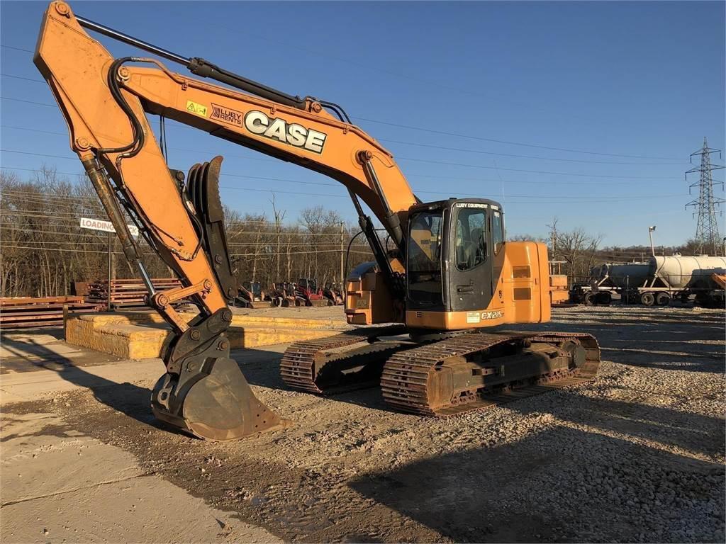 CASE CX225, Crawler Excavators, Construction Equipment