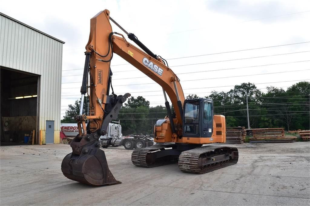 CASE CX225MSR, Crawler Excavators, Construction Equipment