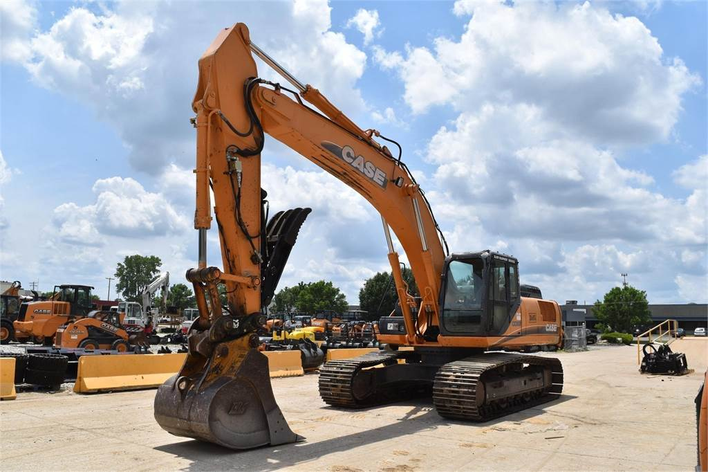 CASE CX350B, Crawler Excavators, Construction Equipment