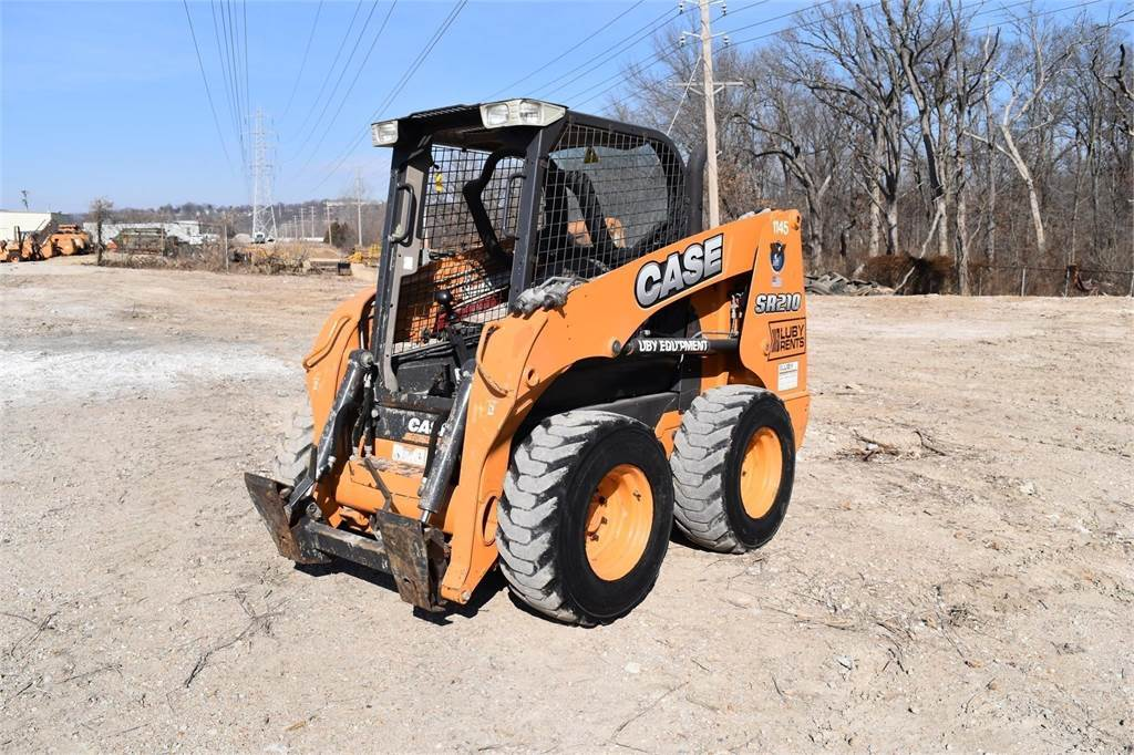 CASE SR210, Skid Steer Loaders, Construction Equipment