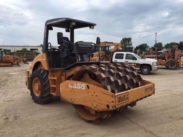 CASE SV208, Soil Compactors, Construction Equipment