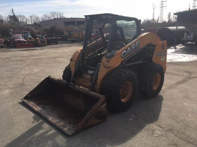 CASE SV280, Skid Steer Loaders, Construction Equipment