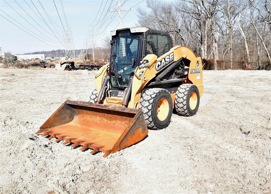 CASE SV300, Skid Steer Loaders, Construction Equipment