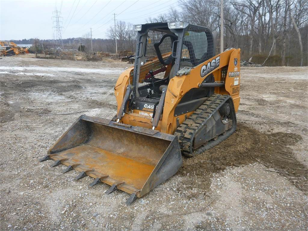 CASE TR270, Skid Steer Loaders, Construction Equipment