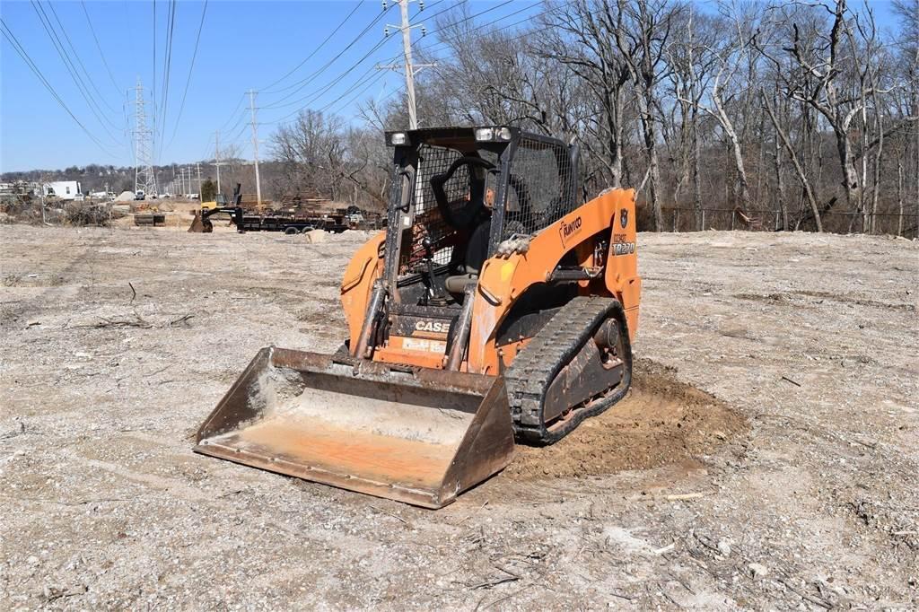 CASE TR270, Skid Steer Loaders, Construction Equipment