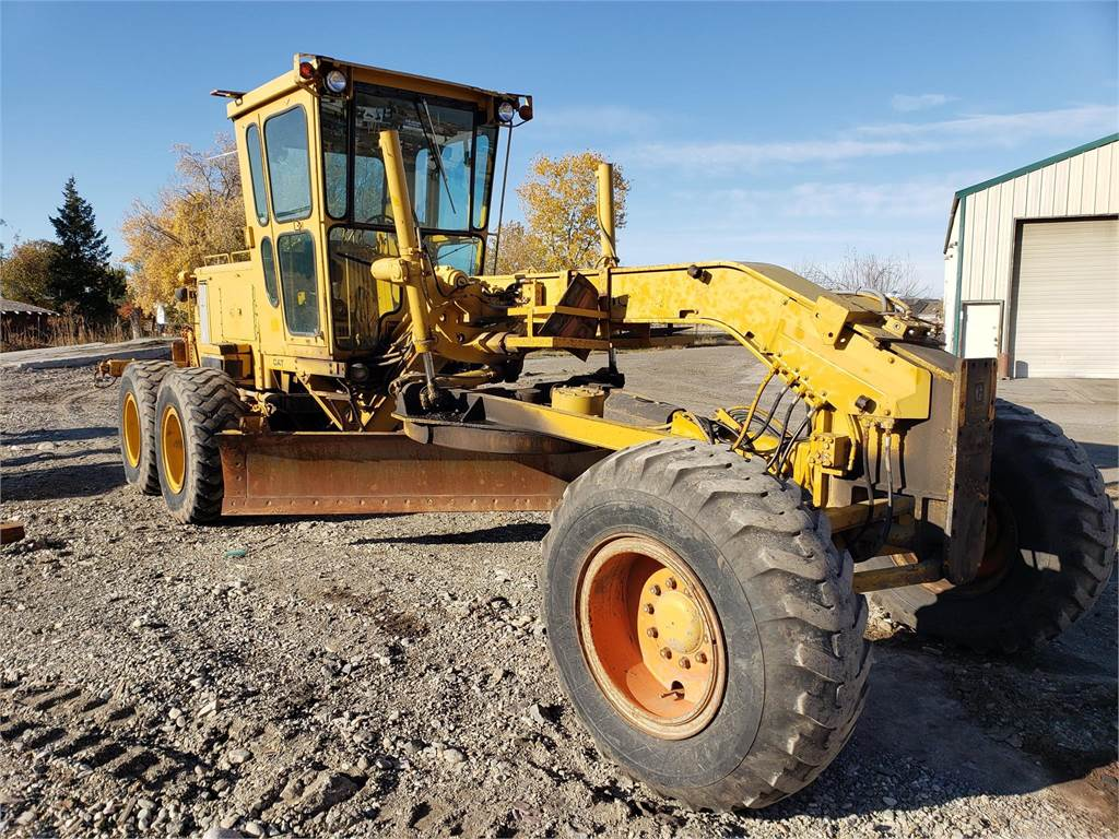 Caterpillar 140G, Motor Graders, Construction Equipment