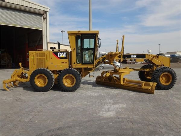 caterpillar 140k motor graders construction equipment