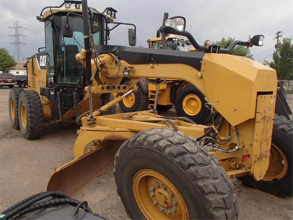 Caterpillar 140M, Motor Graders, Construction Equipment