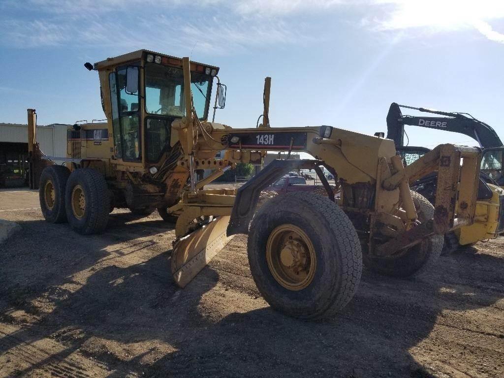 Caterpillar 143H, Motor Graders, Construction Equipment