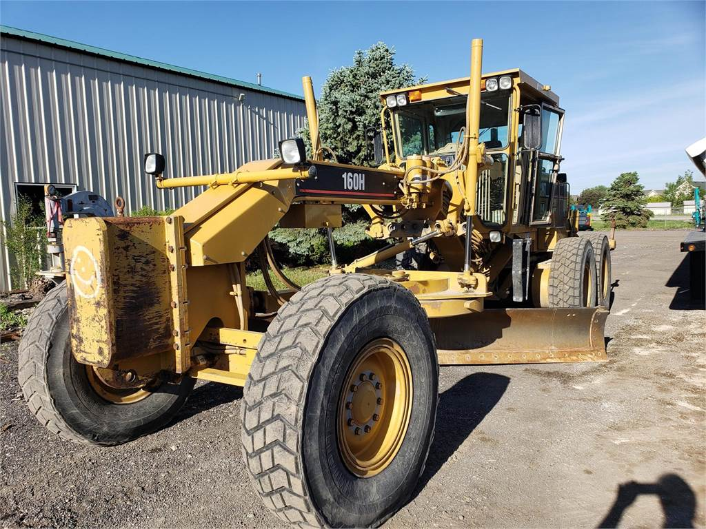 Caterpillar 160H, Motor Graders, Construction Equipment