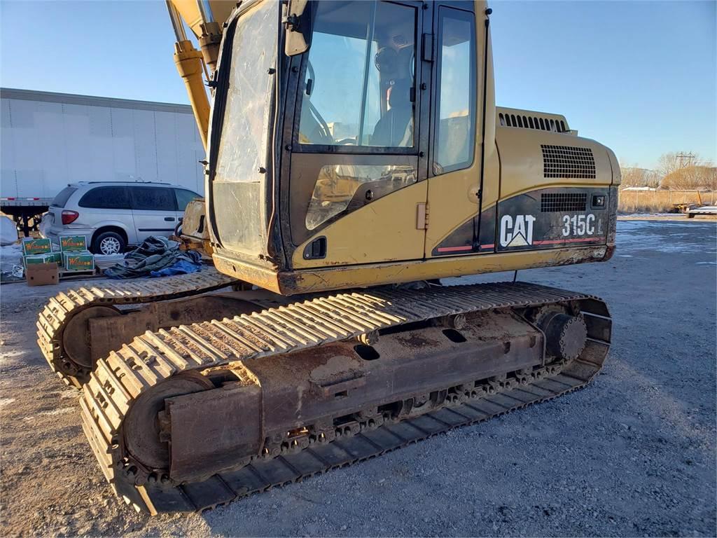 Caterpillar 315CL, Crawler Excavators, Construction Equipment