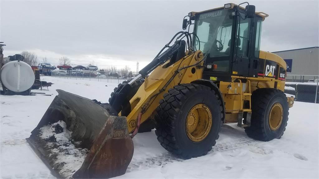 Caterpillar 924G, Wheel Loaders, Construction Equipment