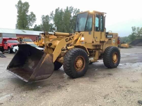 Caterpillar 926E, Wheel Loaders, Construction Equipment