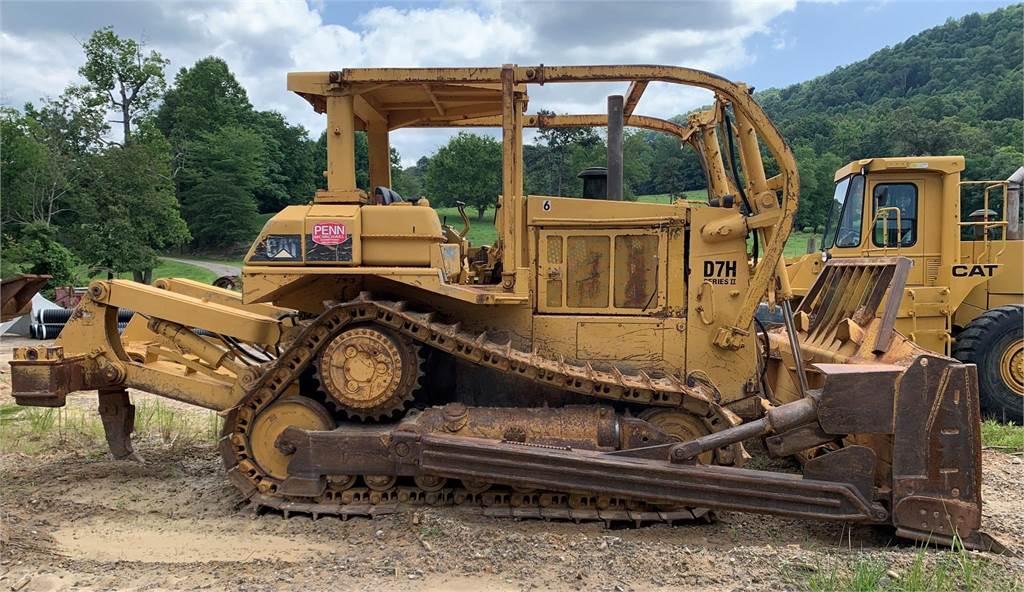 Caterpillar D7H II, Crawler dozers, Construction Equipment