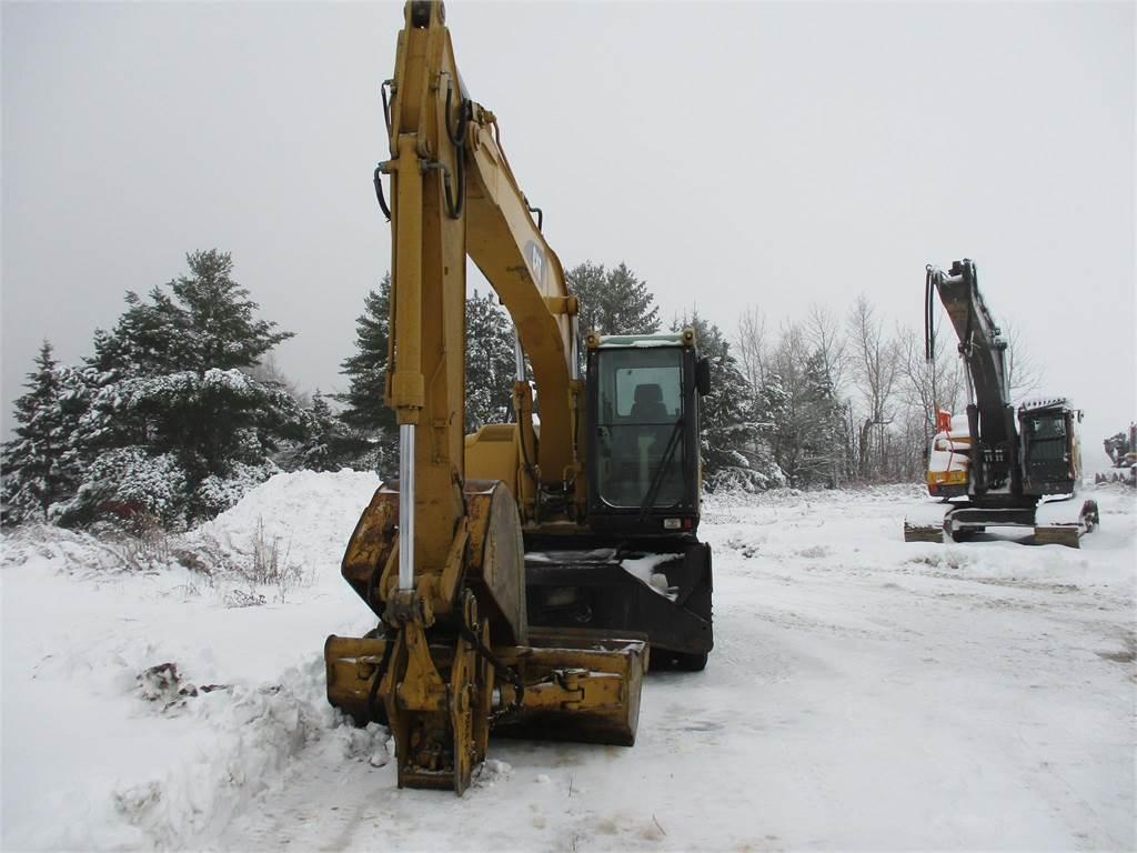 Caterpillar M316C, Wheeled Excavators, Construction Equipment