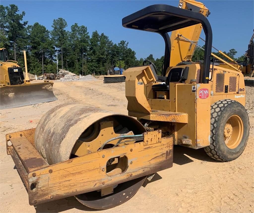 Champion 660, Single drum rollers, Construction Equipment