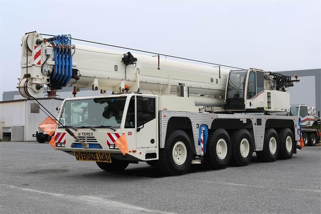 Demag AC 160-2, All Terrain Cranes, Construction Equipment