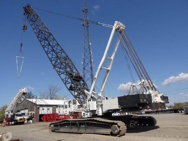 Demag CC1800, Crawler Cranes, Construction Equipment
