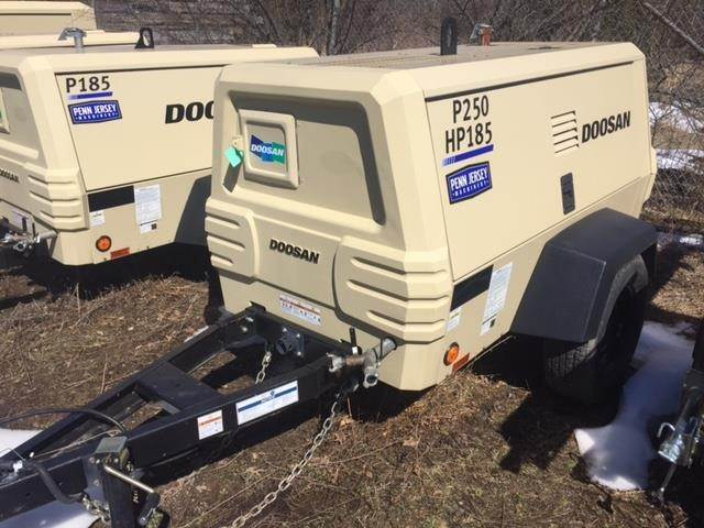Doosan P250/HP185WDZ-T4F, Compressors, Construction Equipment