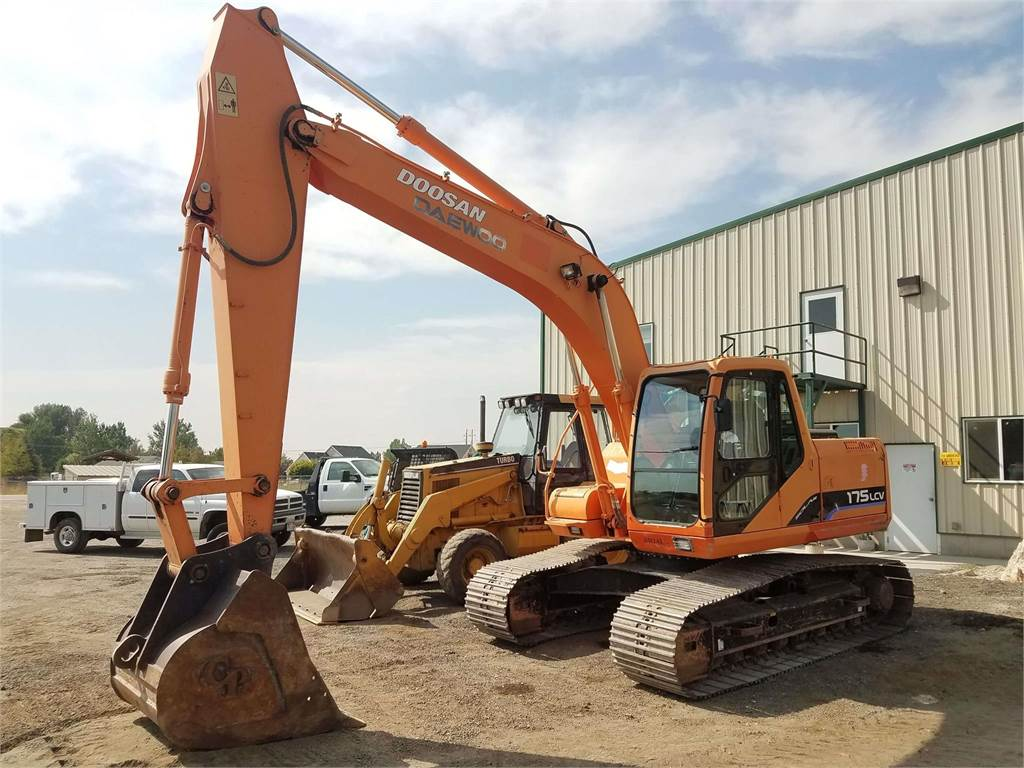 Doosan SOLAR 175 LC V, Crawler Excavators, Construction Equipment