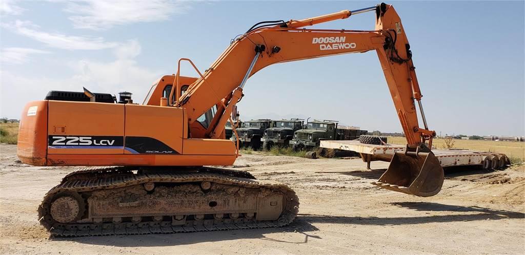 Doosan SOLAR 225 LC V, Crawler Excavators, Construction Equipment
