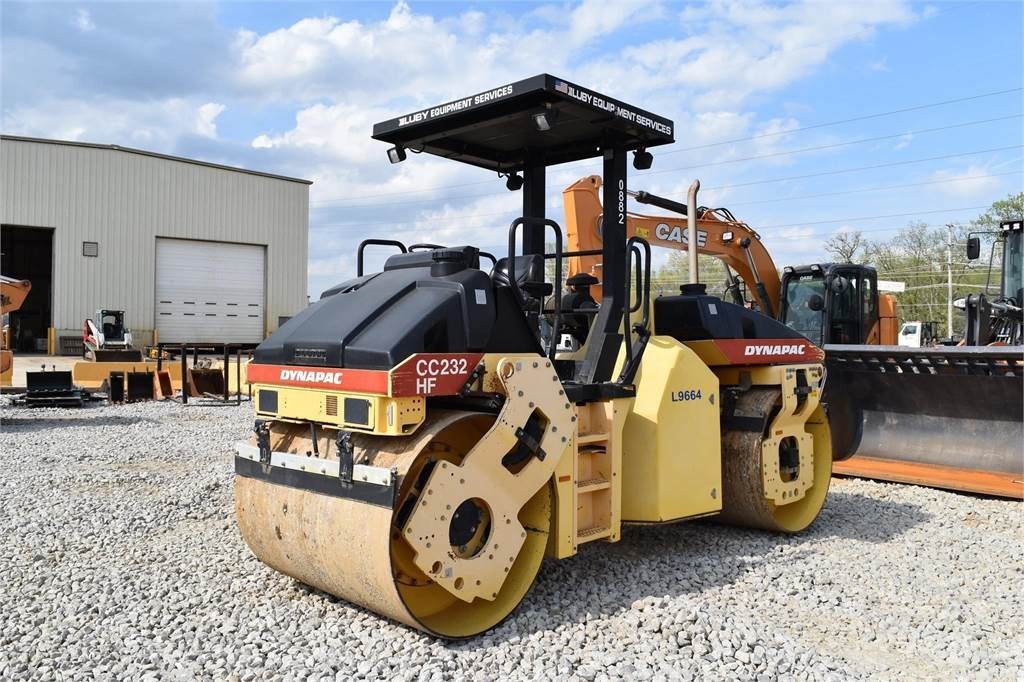 Dynapac CC232, Single drum rollers, Construction Equipment
