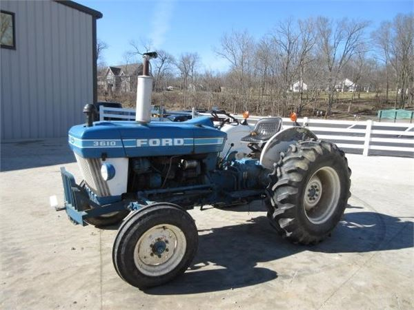 Ford 3610 Tractor : Ford for sale wabash indiana price year
