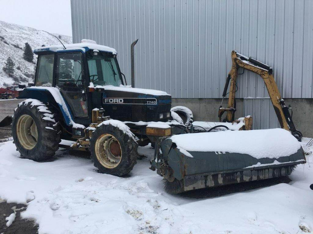 Ford 7740, Tractors, Agriculture