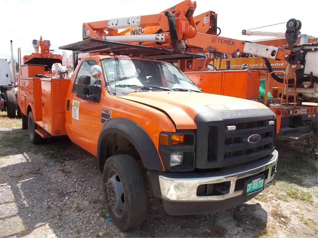 Ford f550 work trucks municipal trucks and trailers