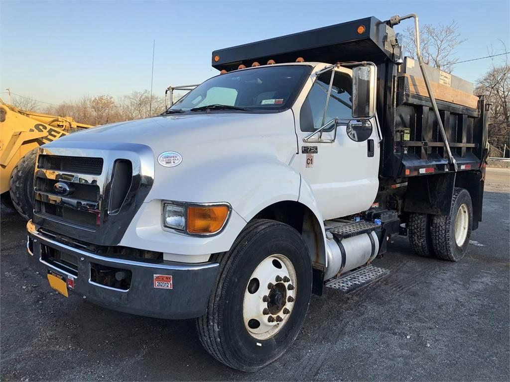Ford F750 SD, Dump Trucks, Trucks and Trailers