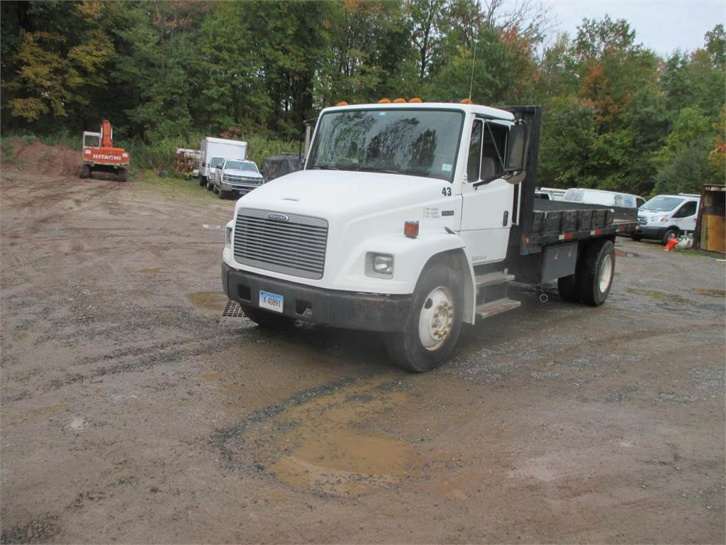 Freightliner FL70, Flatbed Trucks, Trucks and Trailers