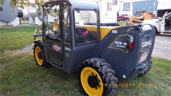 Gehl RS5-19, Used Telehandlers, Construction Equipment