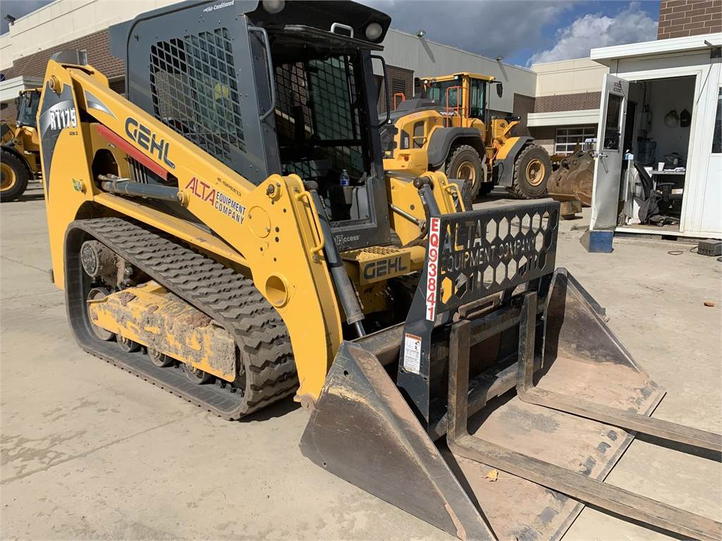 Gehl RT175, Skid Steer Loaders, Construction Equipment