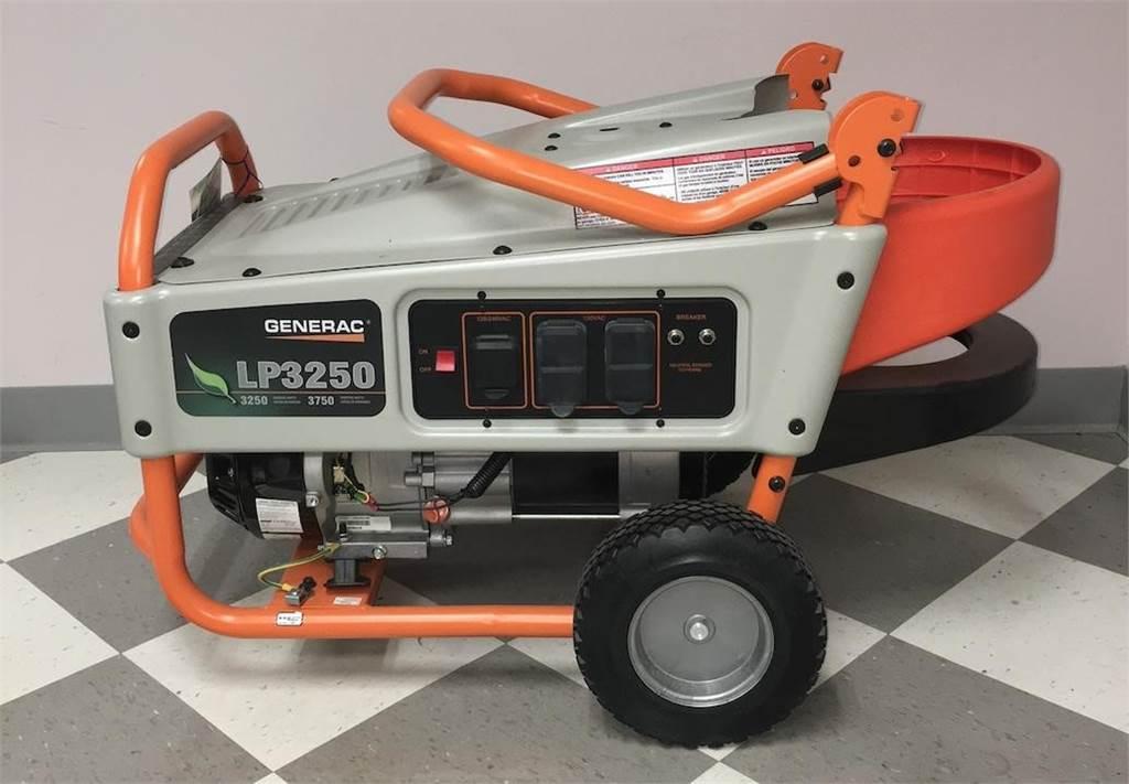 Generac LP3250, Diesel Generators, Construction Equipment