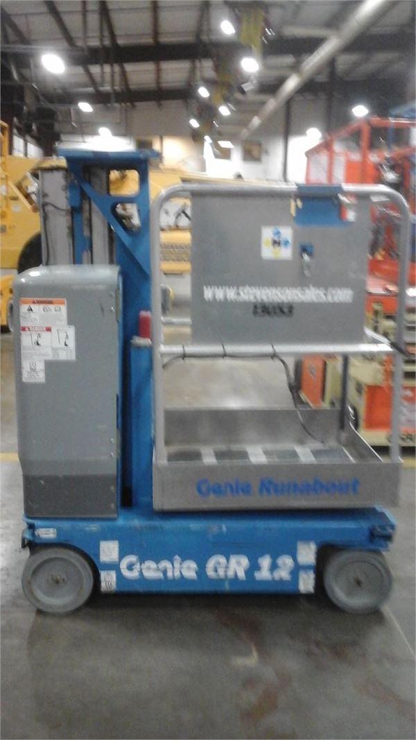 Genie GR12, Vertical mast lifts, Construction Equipment