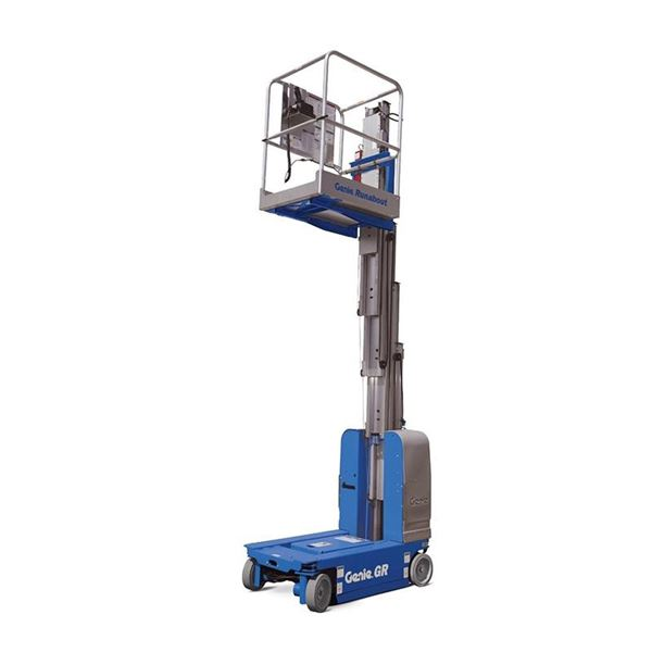 Genie GR12, Vertical mast lifts, Construction Equipment